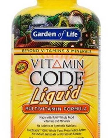Garden of Life Vitamin Code RAW Tekutý multivitamín 900 ml variant: pomaranč - mango