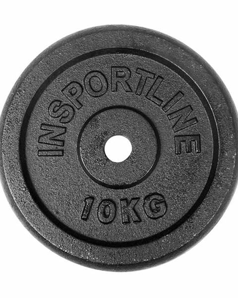 Insportline Liatinové závažie inSPORTline Castblack 10 kg