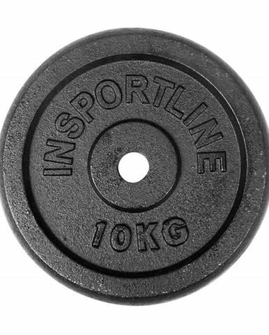 Liatinové závažie inSPORTline Castblack 10 kg
