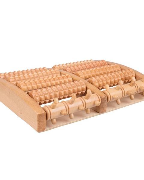 Insportline Drevená podložka na masáž nôh inSPORTline Azaika