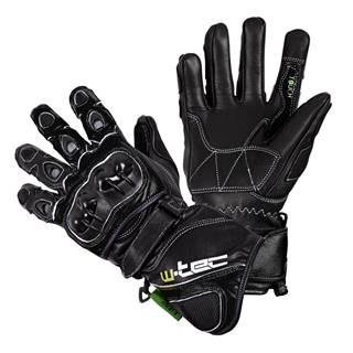 Motocyklové rukavice W-TEC Supreme EVO čierna - S
