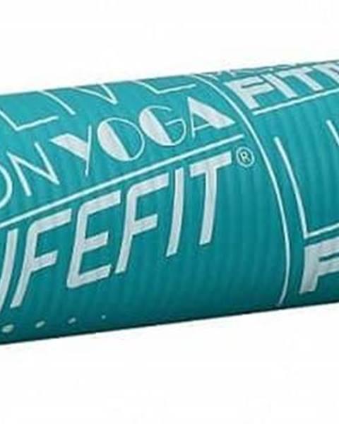 Lifefit Podložka LIFEFIT YOGA MAT EXKLUZIV , 100x58x1cm, tyrkysová