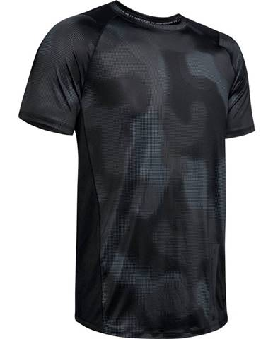 Pánske tričko Under Armour MK1 SS Printed Black - S