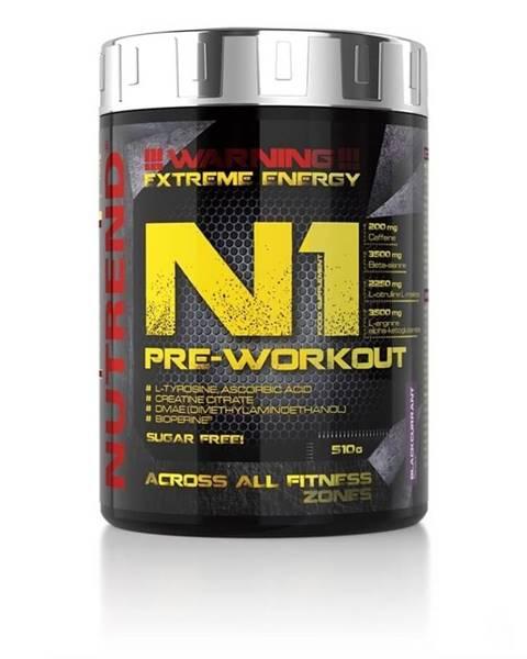 Nutrend NUTREND N1 Pre-Workout 510 g červený pomaranč