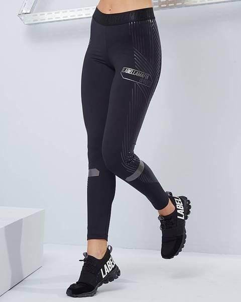LABELLAMAFIA LABELLAMAFIA Dámske legíny Techwear Vibes Black  S