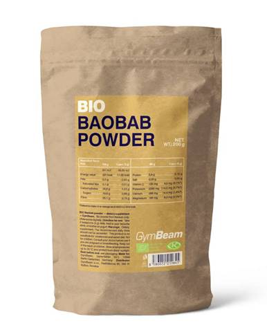 GymBeam BIO Baobab prášok 200 g